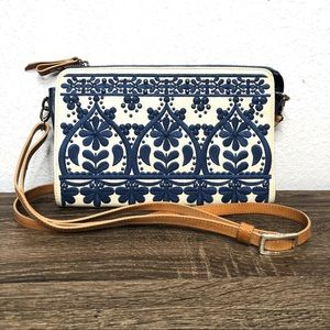 BRIGHTON Casablanca Jewel Embroidered Pouch Bag